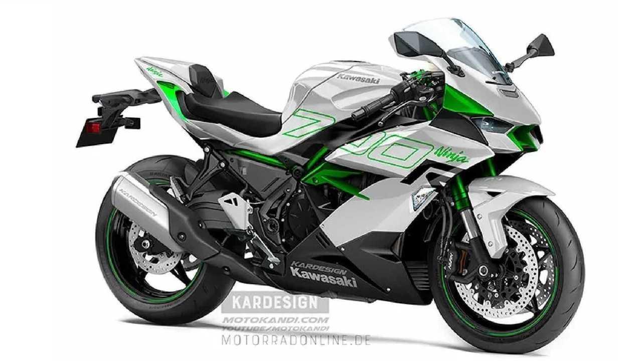 Ninja 700R White