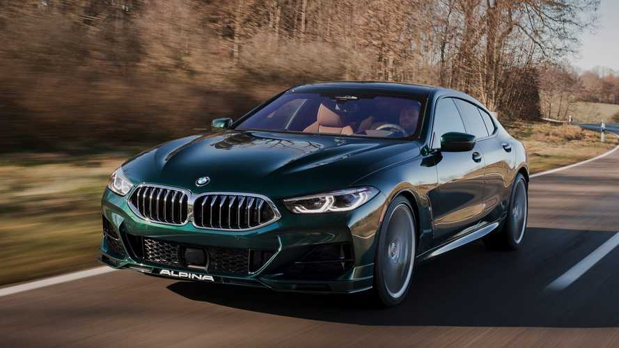 Alpina B8 Gran Coupé 2021: un BMW M850i de campanillas