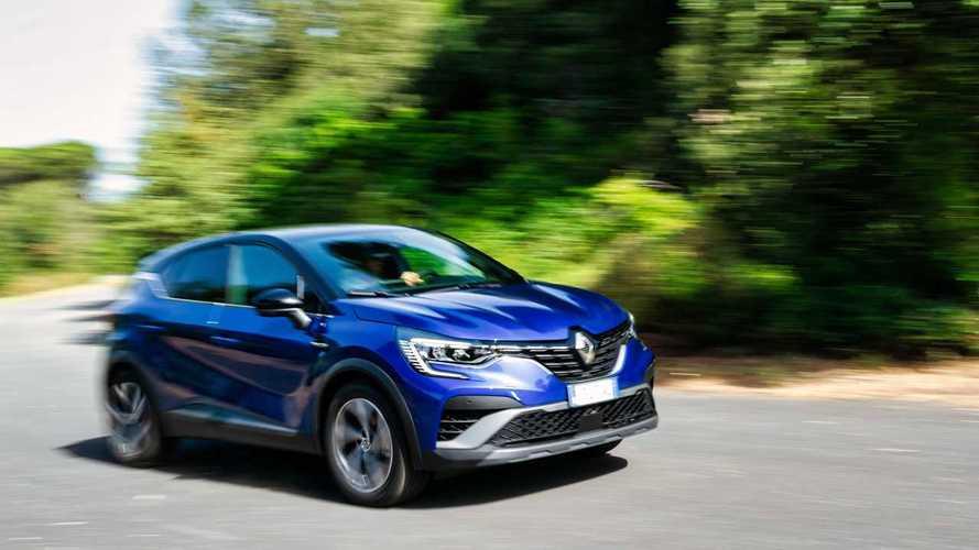 Renault Captur E-Tech Hybrid (2021) - La prova