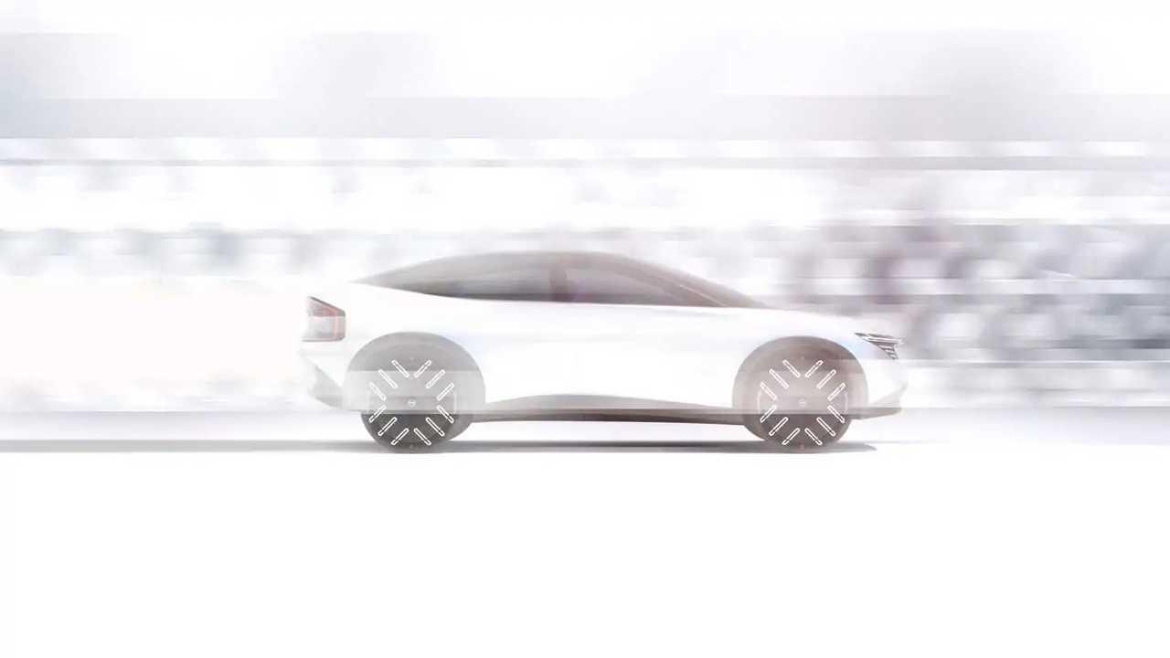 Nissan new EV crossover teaser