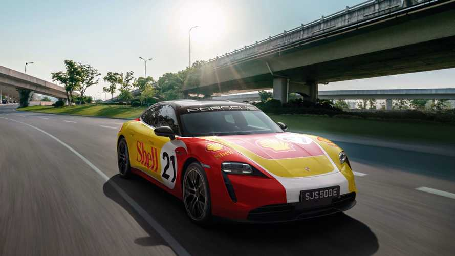 Porsche Asia Pacific And Shell Implement High Performance Charging Network
