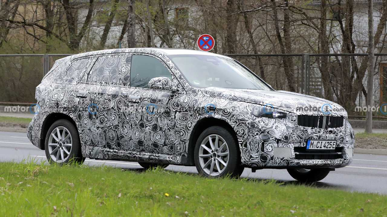 Electric BMW X1 spied in Germany