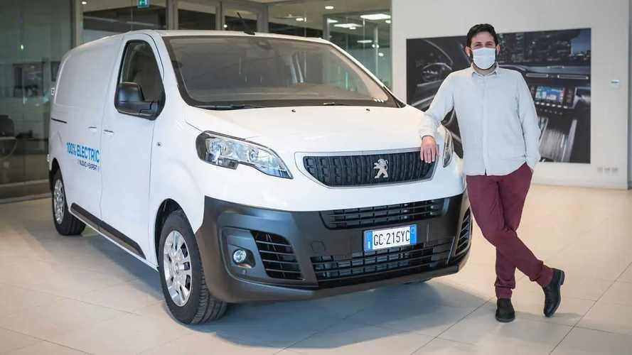 "Peugeot, gli e-Expert per i vincitori di ""4 ristoranti"""
