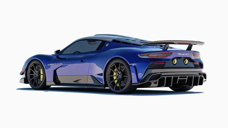 Maserati MC20 por 7 Designs
