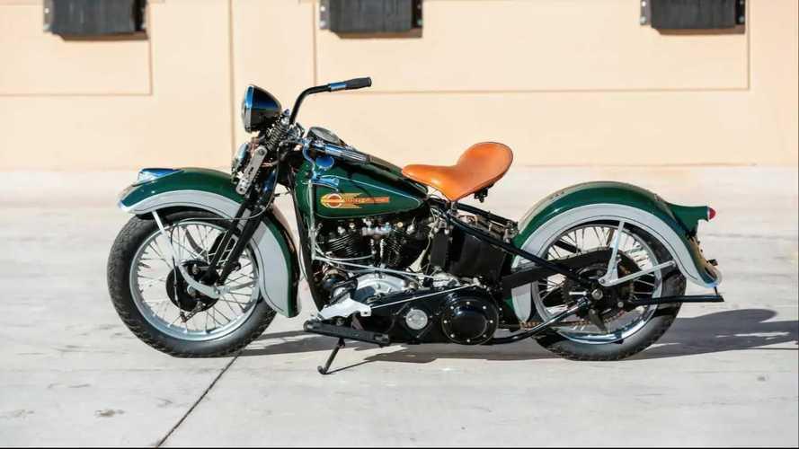 Harley-Davidson Knucklehead Koleksi JC Burgin