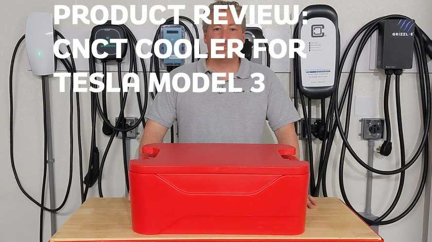 Product Review: Tesla Model 3/Y Trunk Hard Cooler By CNCT