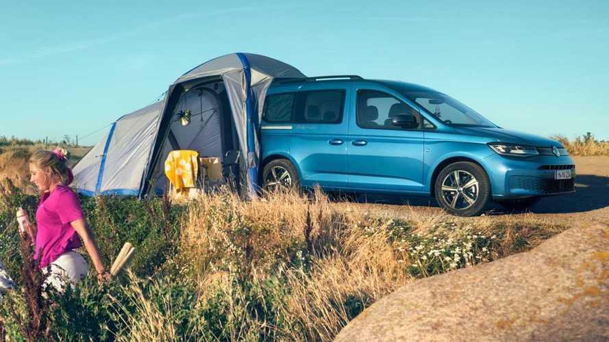 VW Caddy California is a £30,000 compact camper van