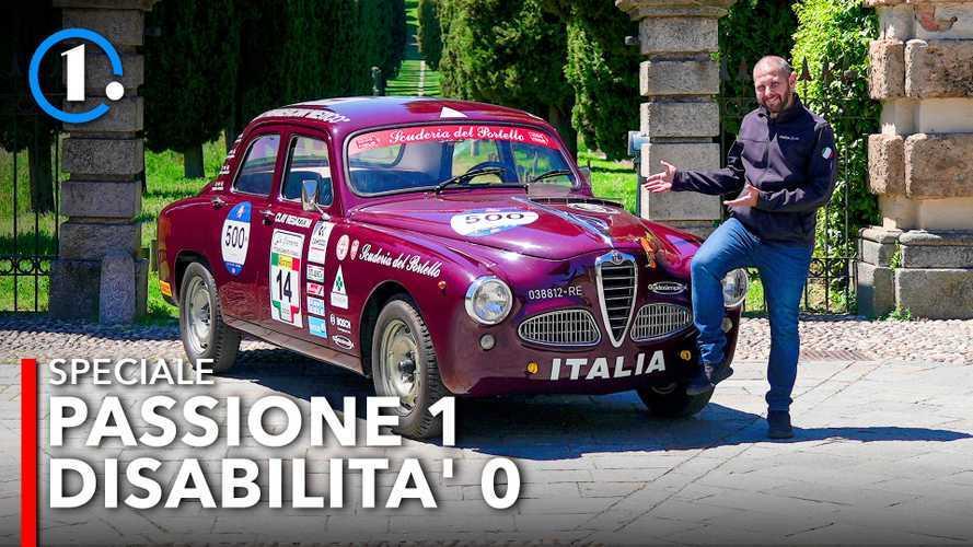 Un disabile può correre con un'Alfa Romeo 1900 TI? Sì!