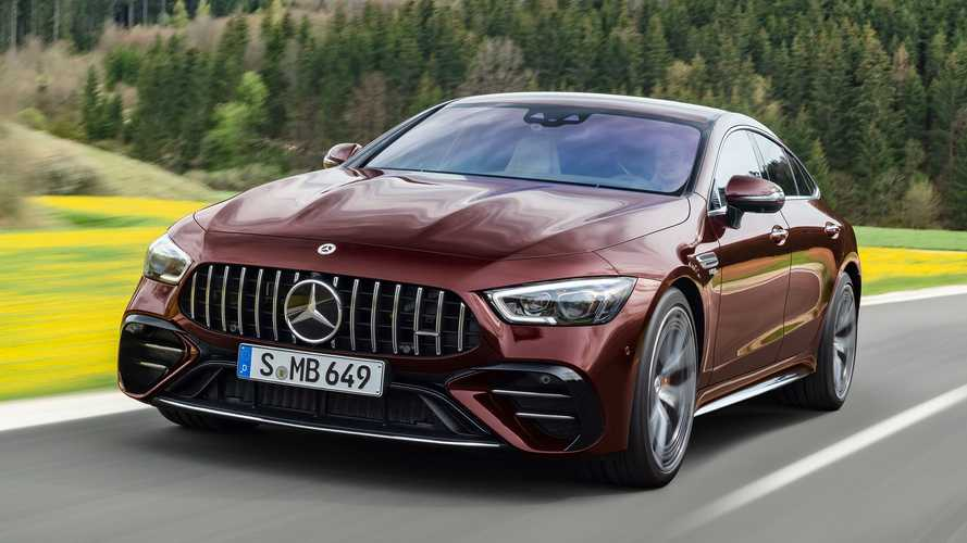 Mercedes-AMG GT 4 puertas Coupé 2021: actualización estética