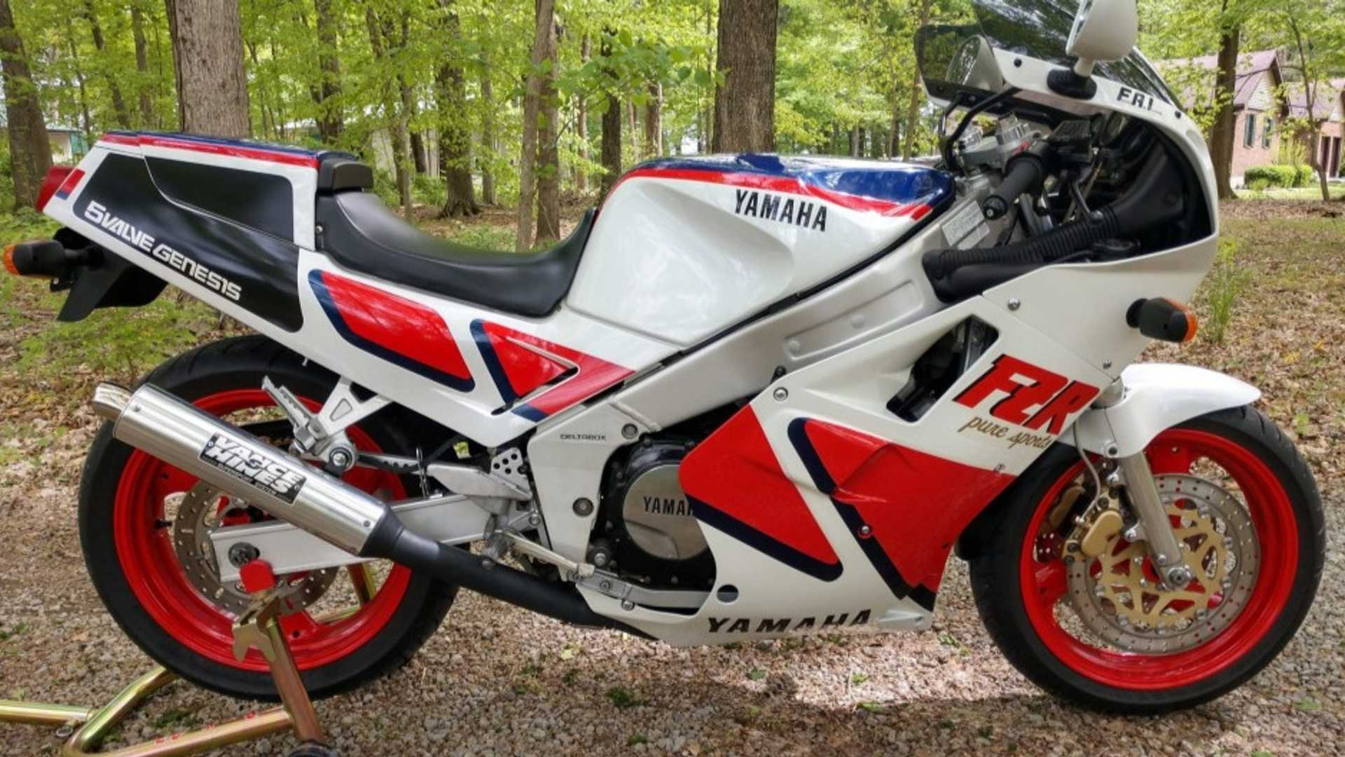 A One Of 200 Yamaha FZR750RT Homologation Unit Is For Sale