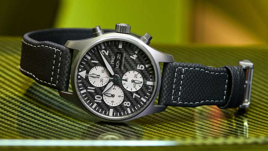 This Watch From AMG And IWC Is Made Of Titanium And Carbon Fiber