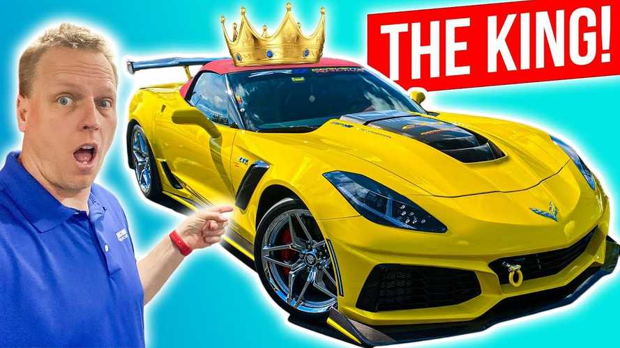 Chevy Corvette ZR1 Convertible Is Chock-Full Of Upgrades