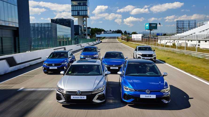 Conocemos la gama R de Volkswagen en el circuito del Jarama