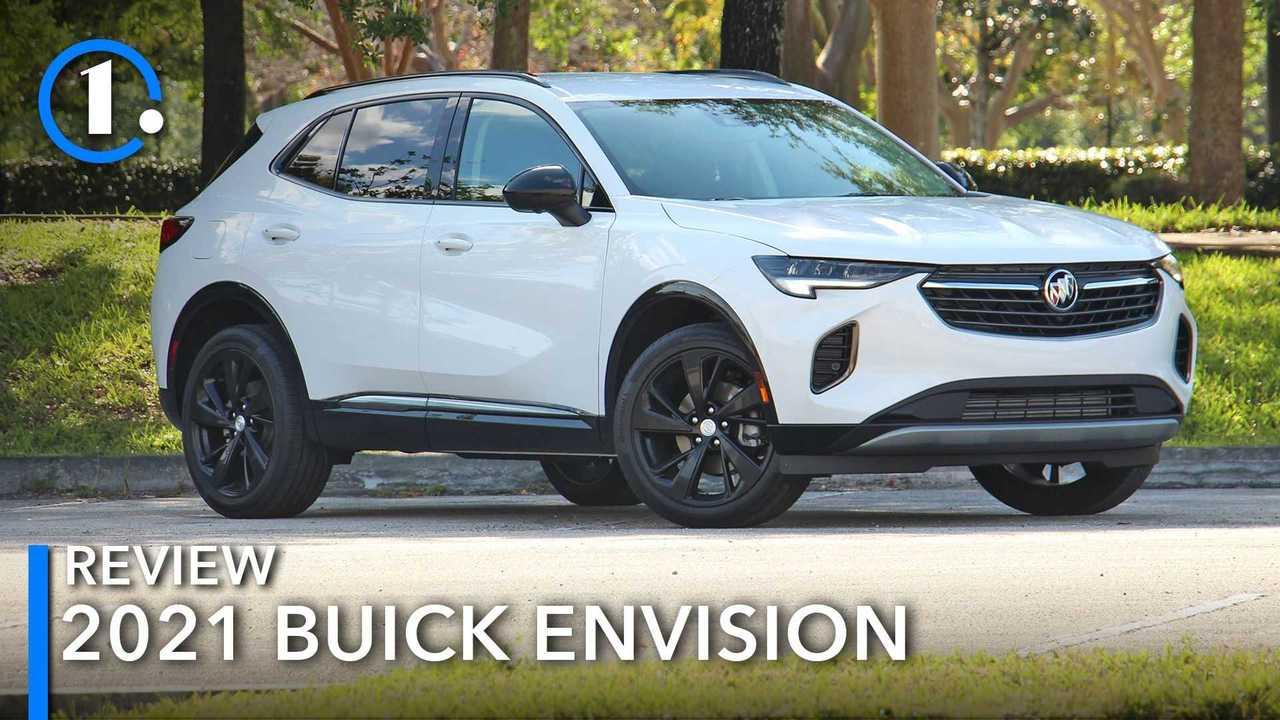 Optisch erinnert der Buick Envision an Opel-Modelle