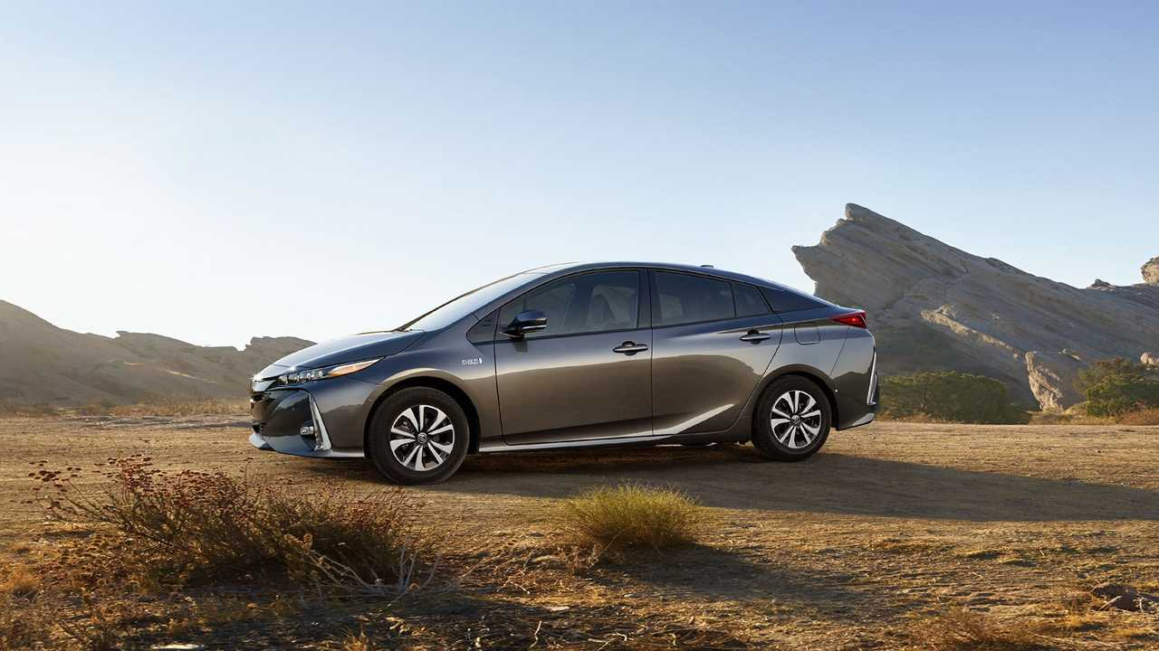 Despite still being production-limited from Japan, the new Toyota Prius Prime let it be known it would be competing for