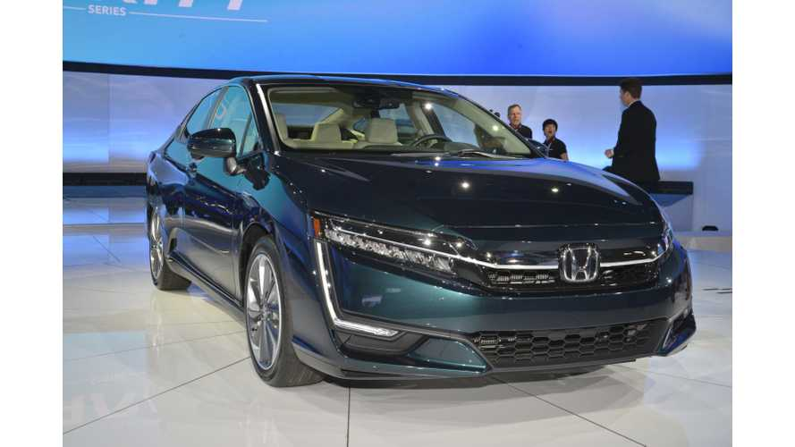 Honda Clarity Plug-In Hybrid Priced From $33,400, 47 Miles Range