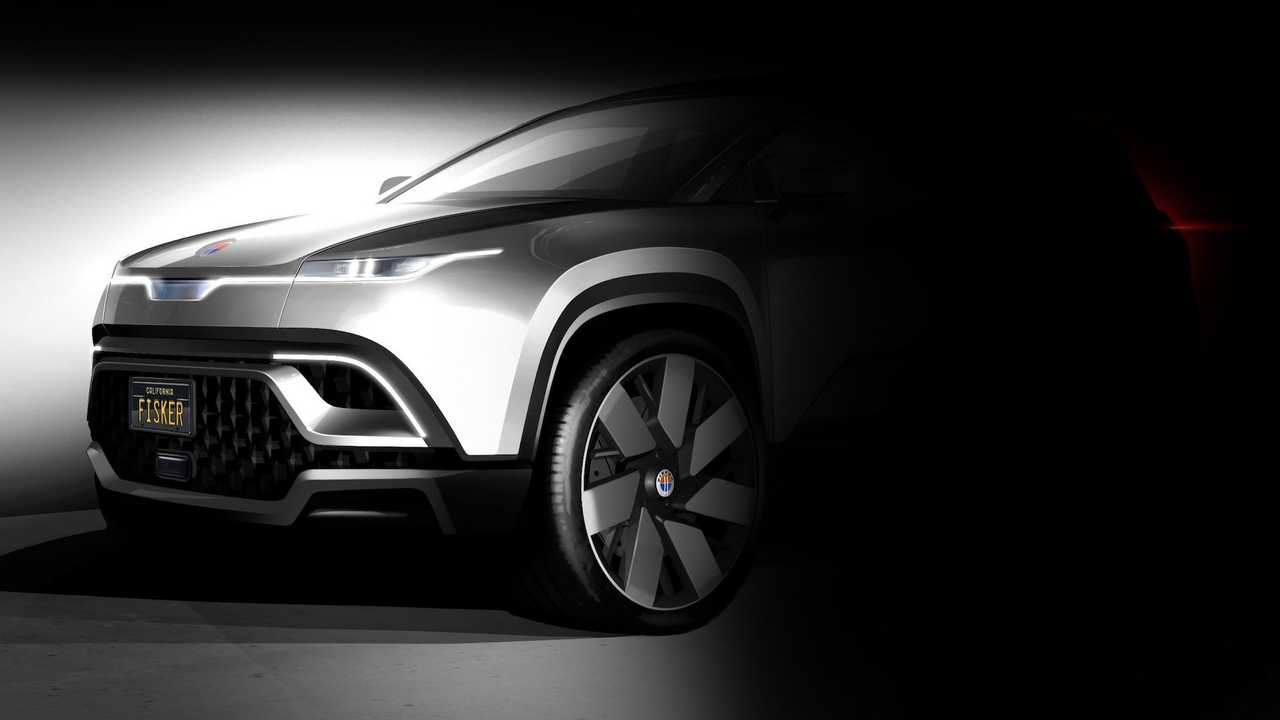 Fisker Electric Crossover Teaser