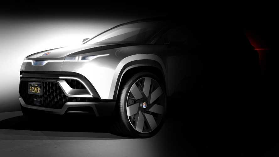 Fisker Teases Front End Of New Electric Crossover Again