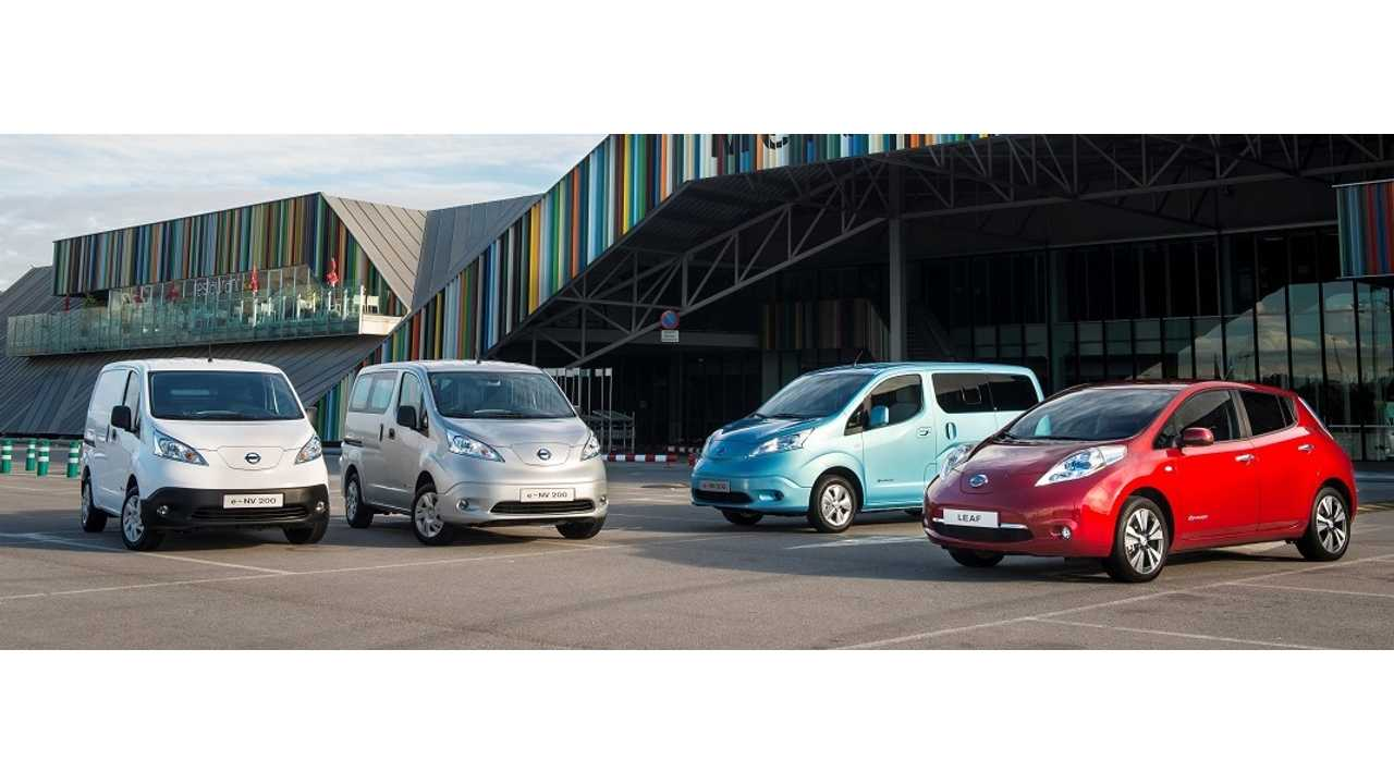 The e-NV200 Joins The Nissan LEAF