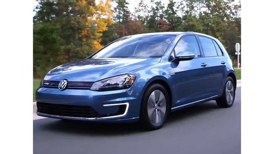 Volkswagen e-Golf Commercial - e-Golf Is Just Like The Other Golfs