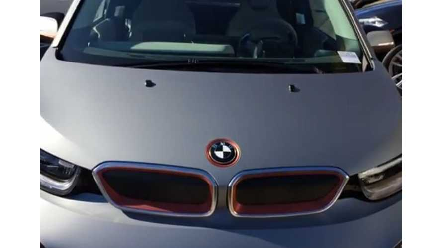 BMW i3 Wrapped In Frozen Gray - Video