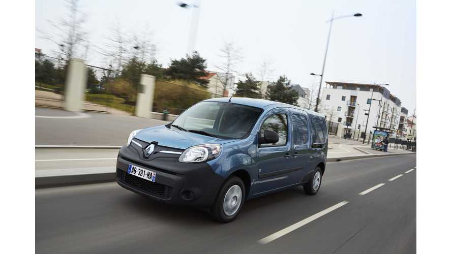 Renault Kangoo Vans Upgraded Across Entire Lineup