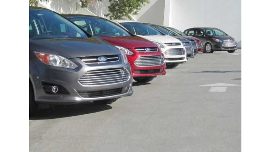 Ford Offers 3 Years Free Charging For C-Max Energi Buyers In California & Maryland