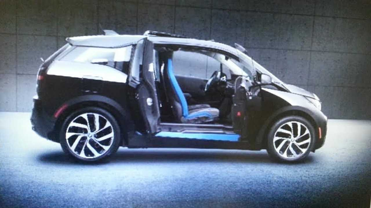 Reportedly This Is The BMW i3 Shadow Sport To Be Announced Shortly (thanks to you know who you are!)
