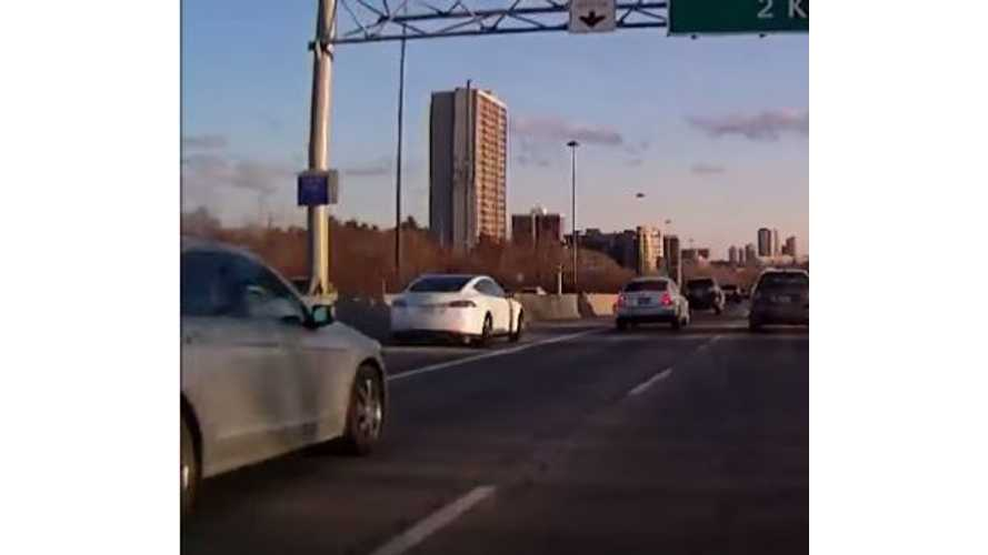 Owning A Tesla Model S Doesn't Entitle You To Drive Like This  - Video