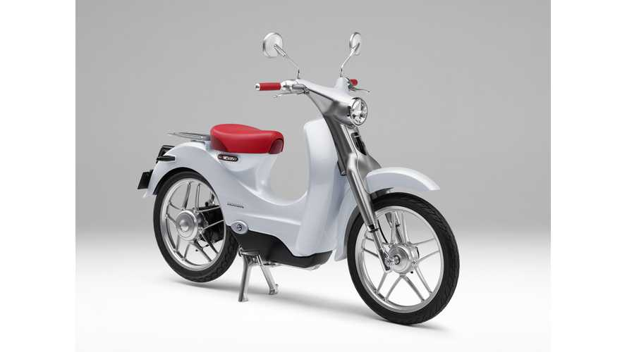 Quick Look At The Honda EV-Cub Concept (Photos)