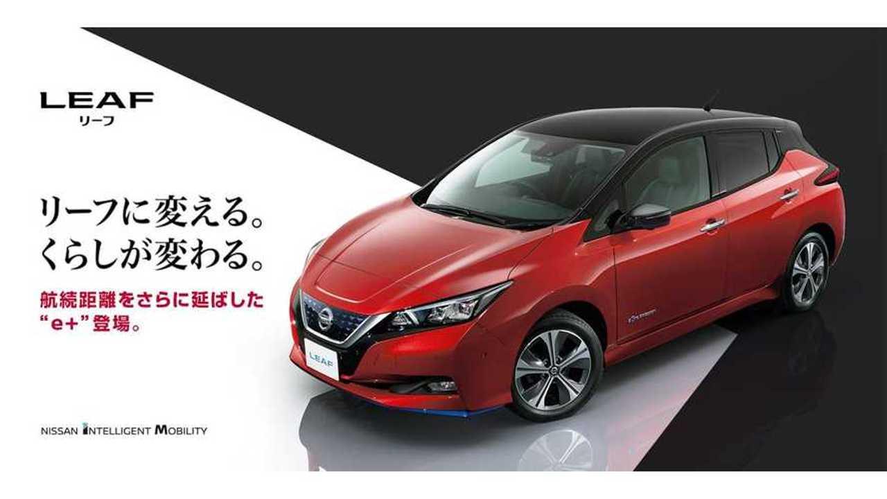 Nissan LEAF Sales In Japan Increased 52% In 2018