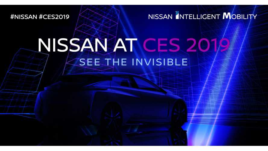 "Nissan CES 2019: ""See The Invisible"" Plus Maybe 60-kWh LEAF e-Plus"