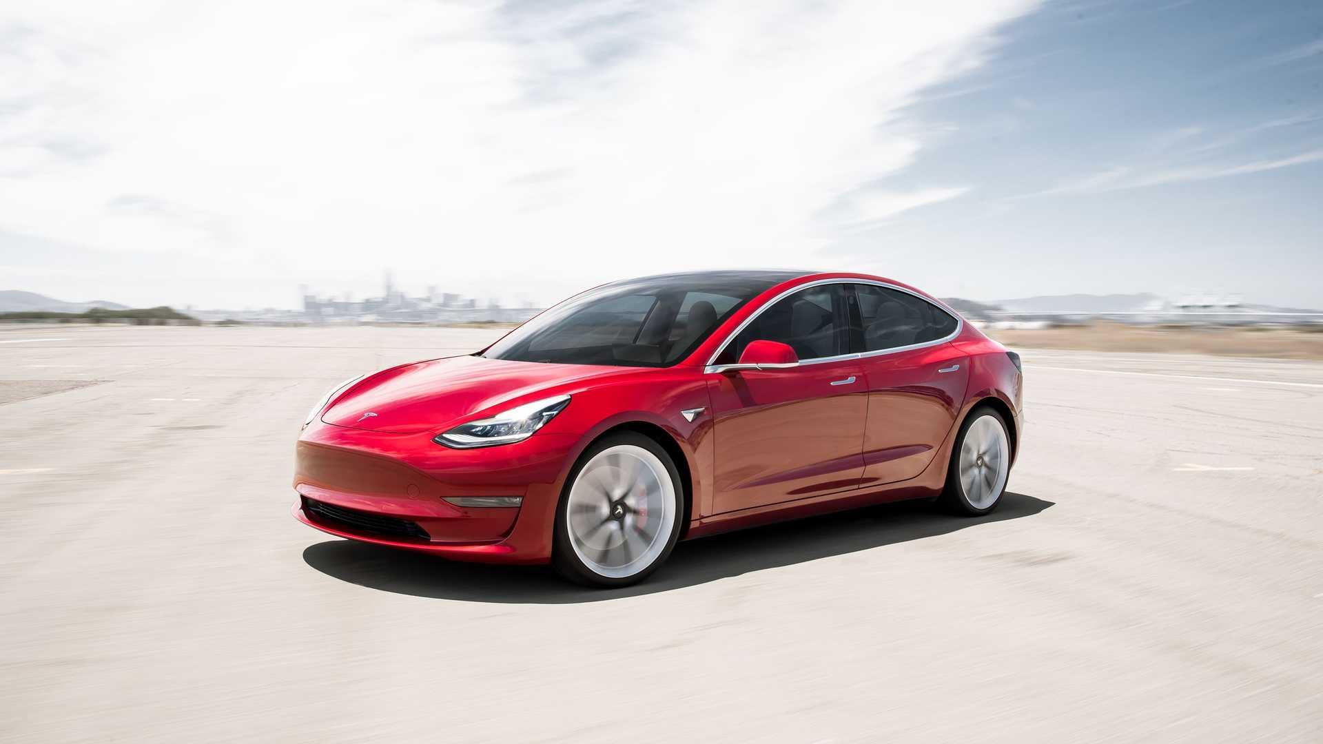 Wallpaper Sunday Tesla Model 3 Performance