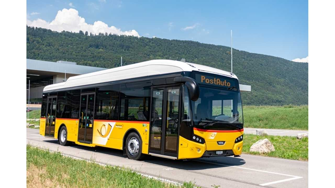 VDL Delivered First Citea Electric Bus In Switzerland