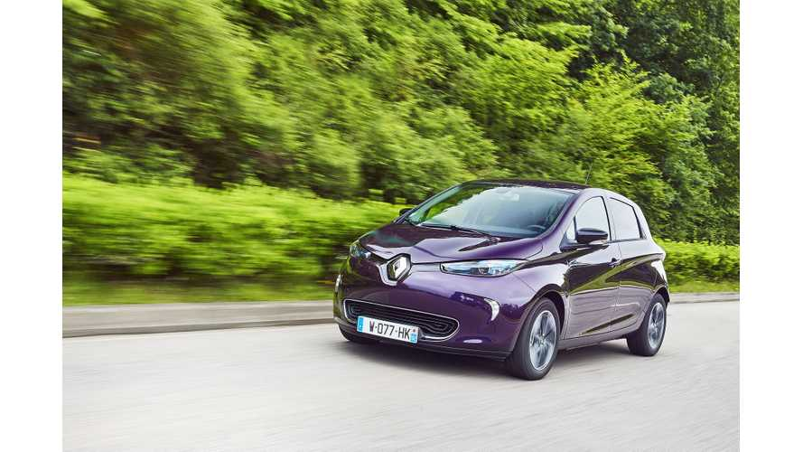 Renault ZOE 40 Goes 351 Miles On Single Charge