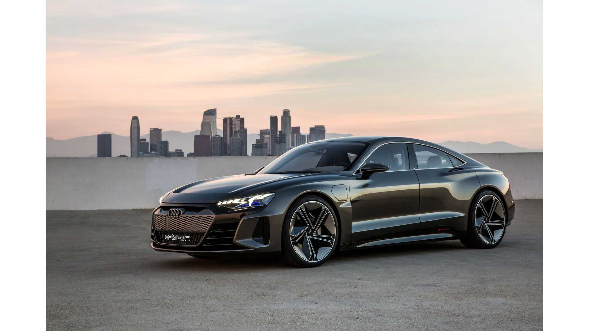 Stunning Audi E Tron Gt Concept Wallpaper Wednesday