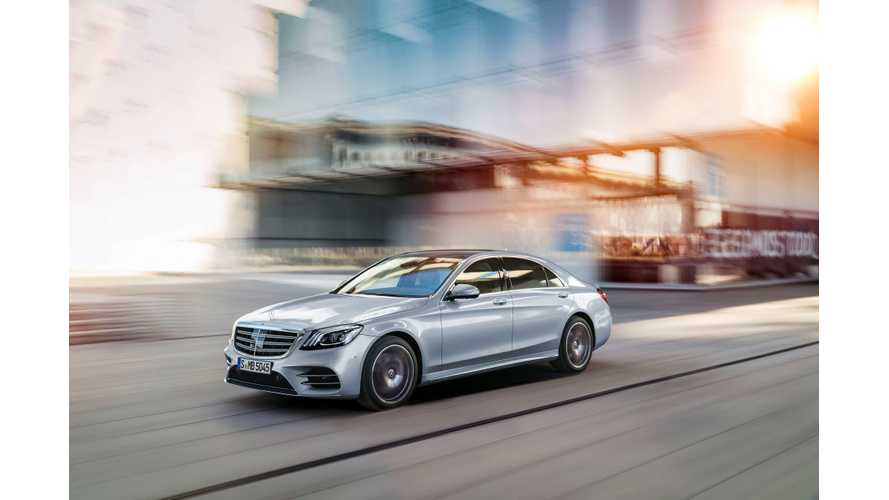 Mercedes-Benz EQ S Electric Sedan Will Challenge Tesla Model S