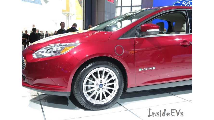 2015 Ford Focus Electric - Live Reveal At New York Auto Show