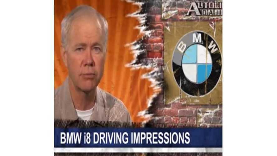 Autoline Drives BMW i8 - Video