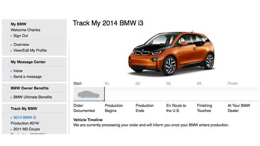 BMWBLOG Orders BMW i3 BEV
