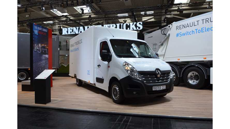 Renault Master Z.E. Electric Truck Now On Sale