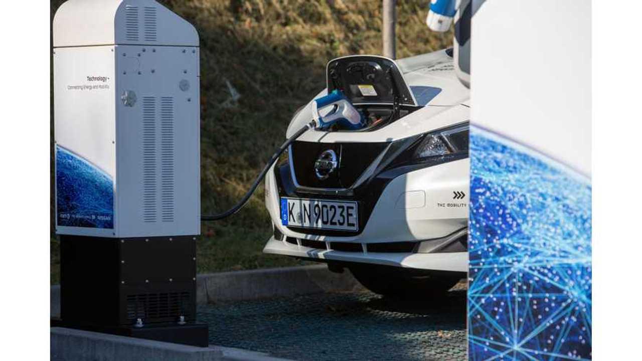 Nissan LEAF - V2G, CHAdeMO charging