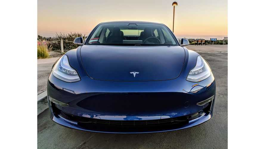 Tesla Model 3 Instrumented Test