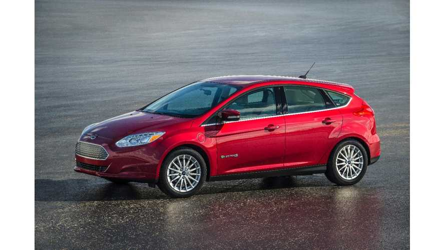 Report:  Ford Slashes Focus Electric Price By $6,000, Now Starts At $29,995