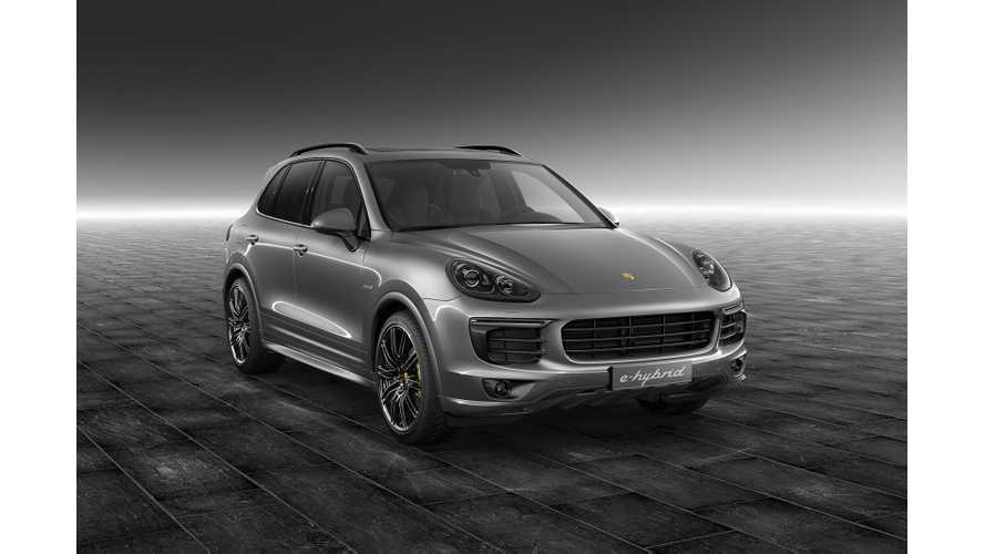 Porsche Exclusive Unveils Decked-Out Meteor Grey Cayenne S E-Hybrid