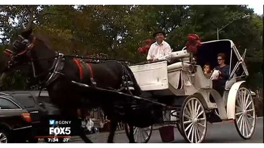 Car & Driver Rates Horse Carriages Higher Than Electric Cars
