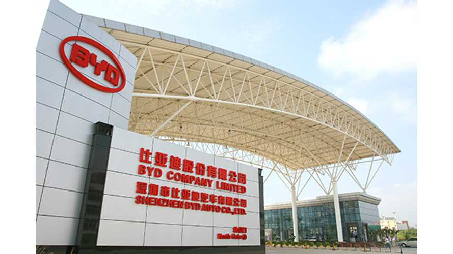 BYD, ABB Form Global Energy Storage Alliance