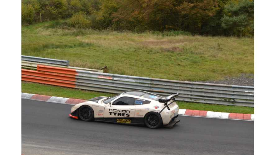 Electric RaceAbout Sets Its Best Time Yet On The Nordschleife (w/video)