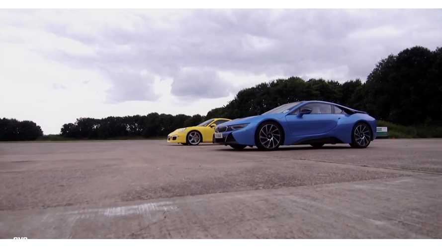 BMW i8 Versus Porsche 911 Carrera S - Drag Race Video