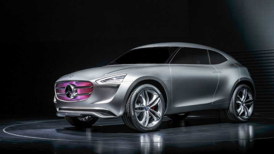 Introducing The Mercedes-Benz Vision G-Code Plug-In Hybrid Sport Utility Coupe